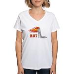 High Heel Racing Women's V-Neck T-Shirt