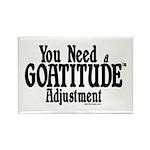 Goatitude Adjustment Rectangle Magnet