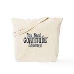 Goatitude Adjustment Tote Bag