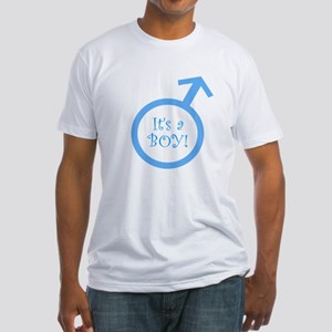 It's A Boy! Fitted T-Shirt