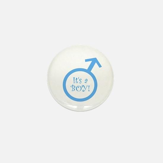 It's A Boy! Mini Button