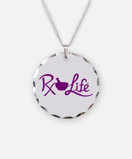 Purple Rx Life Necklace