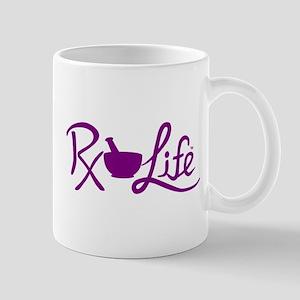 Purple Rx Life Mug