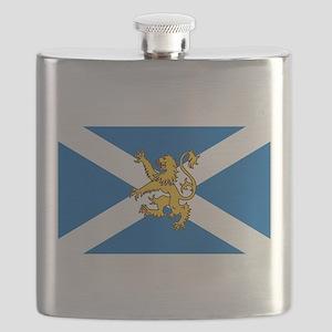 Flag of Scotland - Lion Rampant Flask