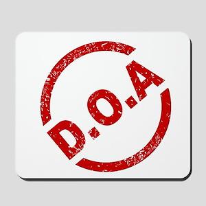 D.O.A Stamp Mousepad