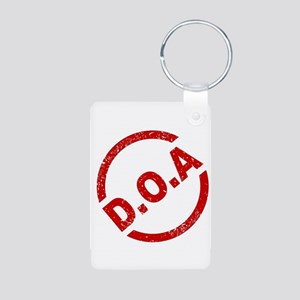 D.O.A Stamp Keychains