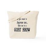 Goat Show Tote Bag