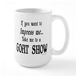 Goat Show Large Mug