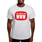 As Seen On WWW Light T-Shirt