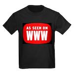 As Seen On WWW Kids Dark T-Shirt