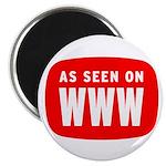 As Seen On WWW Magnet