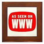 As Seen On WWW Framed Tile