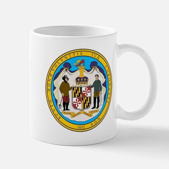 Maryland State Seal Mugs