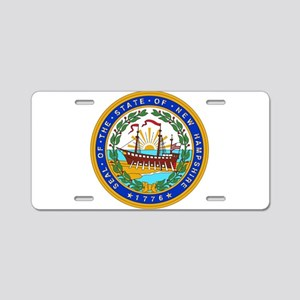 New Hampshire State Seal Aluminum License Plate