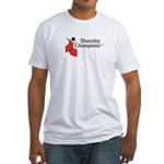 Diversity Champions Fitted T-Shirt