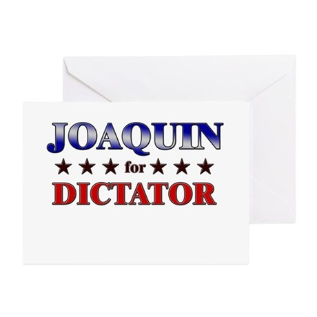 JOAQUIN for dictator Greeting Cards (Pk of 10)