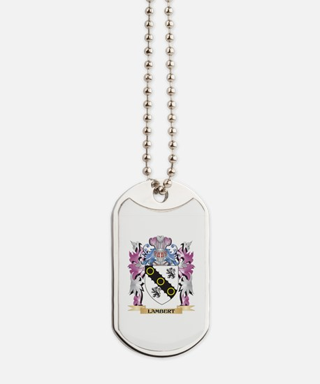 Lambert Coat of Arms - Family Crest Dog Tags