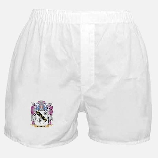 Lambert Coat of Arms - Family Crest Boxer Shorts