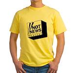 Not News Channel Yellow T-Shirt
