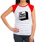 Not News Channel Women's Cap Sleeve T-Shirt