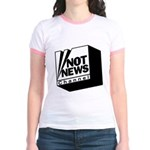 Not News Channel Jr. Ringer T-Shirt