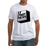 Not News Channel Fitted T-Shirt