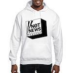 Not News Channel Hooded Sweatshirt
