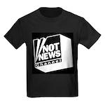 Not News Channel Kids Dark T-Shirt