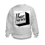 Not News Channel Kids Sweatshirt