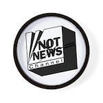 Not News Channel Wall Clock