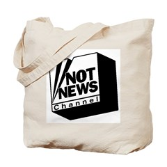 Not News Channel Tote Bag