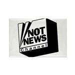 Not News Channel Rectangle Magnet (100 pack)
