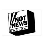 Not News Channel Postcards (Package of 8)