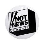 Not News Channel Ornament (Round)