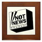 Not News Channel Framed Tile