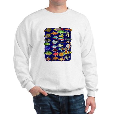Tropical Fish ~ Sweatshirt