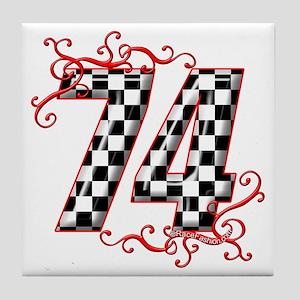 RaceFashion.com 74 Tile Coaster