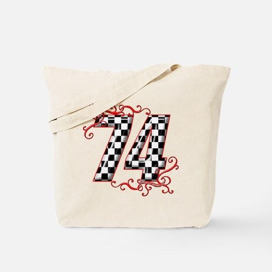 RaceFashion.com 74 Tote Bag
