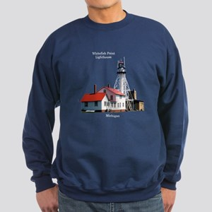 Whitefish Point Lighthouse Sweatshirt (dark)