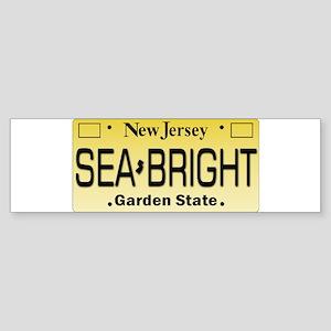 Sea Bright NJ Tag Gifts Bumper Sticker