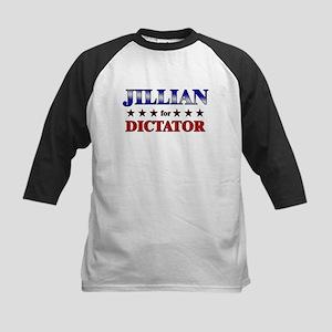 JILLIAN for dictator Kids Baseball Jersey