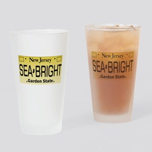 Sea Bright NJ Tag Gifts Drinking Glass