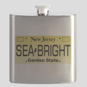 Sea Bright NJ Tag Gifts Flask
