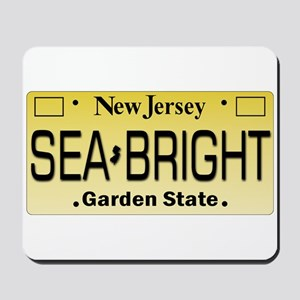 Sea Bright NJ Tag Gifts Mousepad