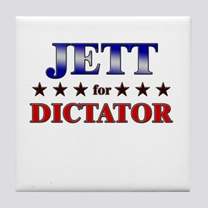 JETT for dictator Tile Coaster