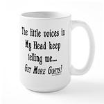 Get More Goats Large Mug