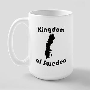 Sweden Large Mug