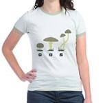Mushrooms Jr. Ringer T-Shirt