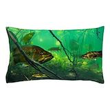 Bass fishing Pillow Cases