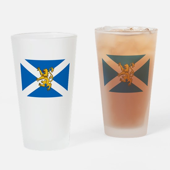 Flag of Scotland - Lion Rampant Drinking Glass